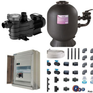 Kit filtration 3/4 cv